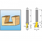Фреза ласточкин хвост Makita R14 12.7х12.7х8х32х2Т (D-10899)